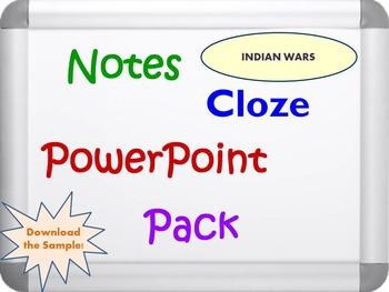 Indian Wars Pack (PPT, DOC, PDF)