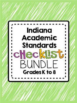 Indiana Academic Standards Checklist.Kindergarten to Grade