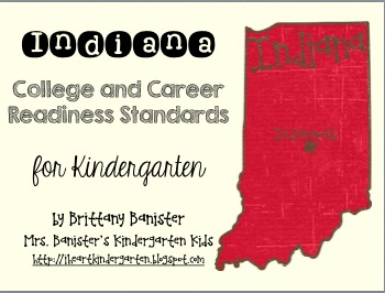 Indiana College & Career Readiness Standards Checklist & D