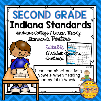Indiana Standards for Second Grade