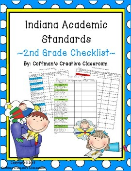 Indiana College and Career Ready Standards 2nd Grade Checklist