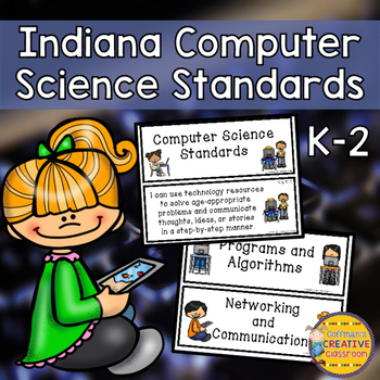 Indiana Computer Science Standards for grades K-2