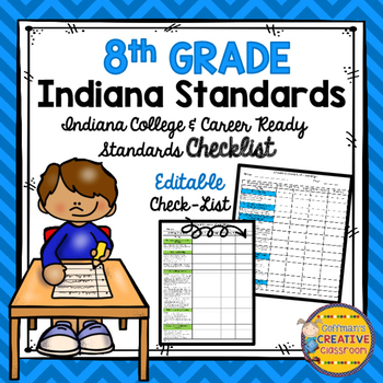 Indiana Standards 8th Grade Checklist