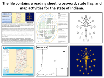 Indiana - State Activity Set