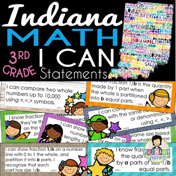 Indiana State Standards MATH Standards 3rd Grade - I CAN S