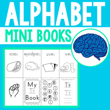 Individual Alphabet Mini Books