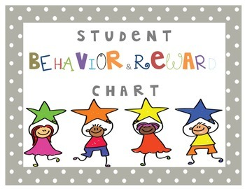 Individual Behavior and Reward Chart