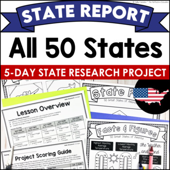 Individual State Research Projects: All 50 States (Bundle)