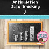 FREE Articulation Progress Monitoring Data J {Speech Servi