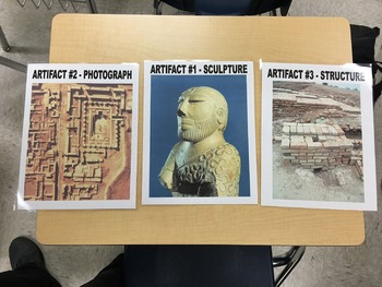 Indus Museum Activity - Interpreting a Society Through Artifacts