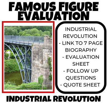 Industrial Revolution Famous Figure Evaluation Part I