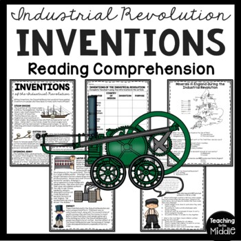 Industrial Revolution Machine Inventions Article and DBQ Q