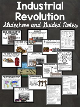 Industrial Revolution in Europe- Powerpoint, video links,
