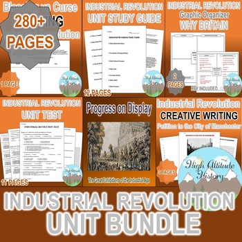 Industrial Revolution Unit *Unit Bundle* (World History /