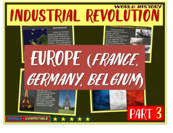 Industrial Revolution in France, Germany (PART 3 of Indust