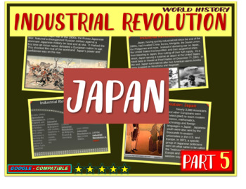 Industrial Revolution in Japan (PART 5 of Industrial Revol