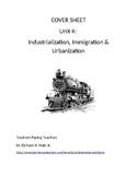 US History: Industrialization/Immigration/Urbanization Com