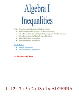 Inequalities, Basic and Compound