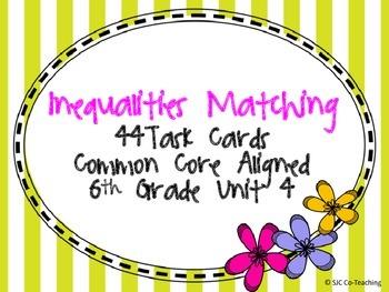 Inequalities Matching