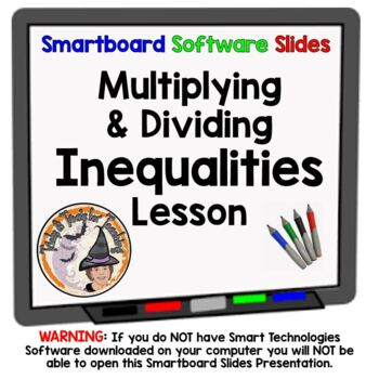 Inequalities Multiplying and Dividing Multiply Divide Ineq