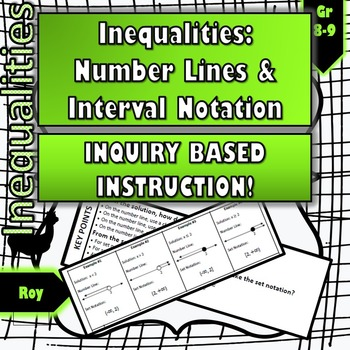 Inequalities: No-Prep Inquiry Instruction for Number Line