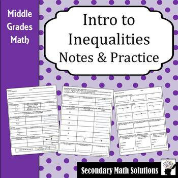Inequalities Notes