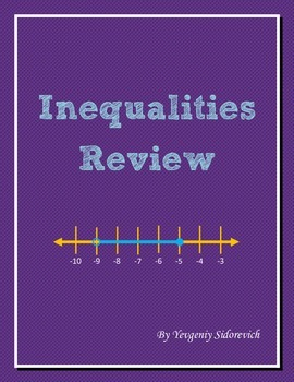 Inequalities Review