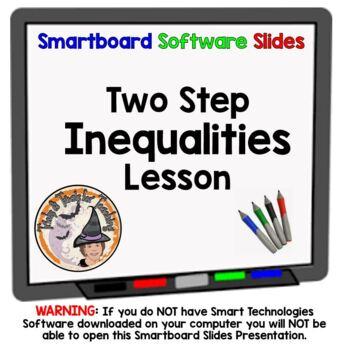 Inequalities Two Step Inequalities 2 Step Inequality Smart