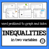 INEQUALITIES in TWO VARIABLES - word problems