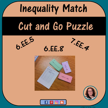 Inequality Match Activity