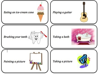 Infer Movements - Acting Cards