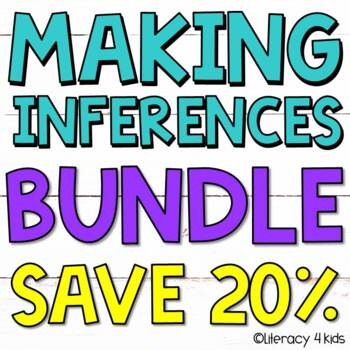 Inferencing Bundle:  No Prep Printables, PowerPoint, and T