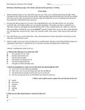 Inference, Character, Plot, Setting Assessment