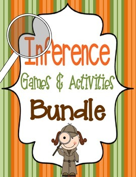 Inference Games and Activities Bundle {60 pages}