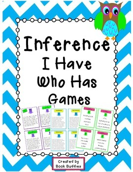 Inference I Have Who Has Games Bundle