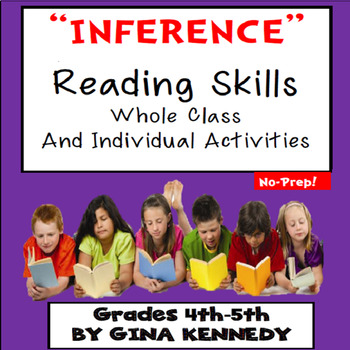 Inference Whole Class and Individual Reading Practice Acti