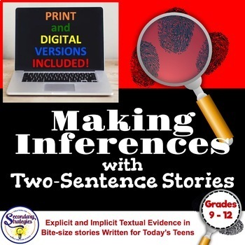 Teach How to Infer and Make Inference Statements with Very