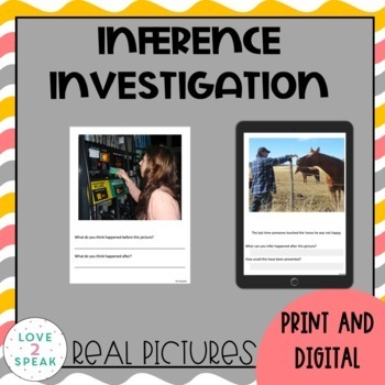 Inference Investigation: What Happened Before and After? R