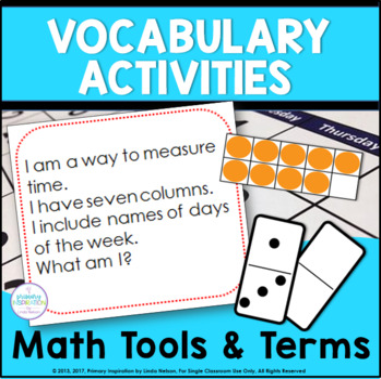 Math Vocabulary Riddles