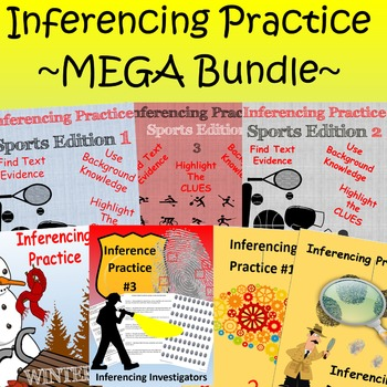Inference Practice ~ MEGA BUNDLE ~ New Listing