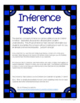 Reading Inference Task Card Set - 24 Paragraphs and Questi