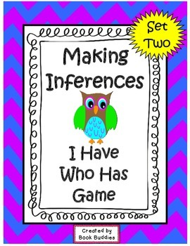 Inference I Have Who Has Challenge