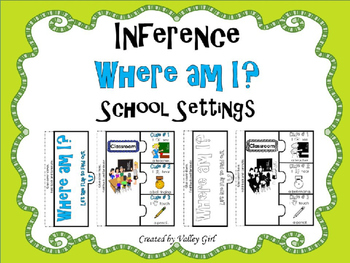 Inference - Where am I? (School settings)
