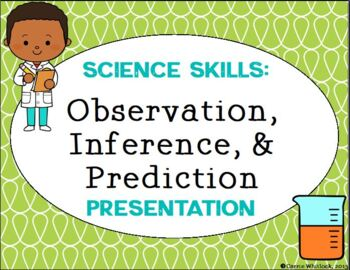 Inference and Observations In Science - Science Skills Pre