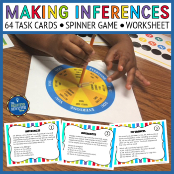 Inference Task Cards & Game