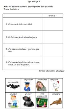 Inférences en lecture - français cycle 1