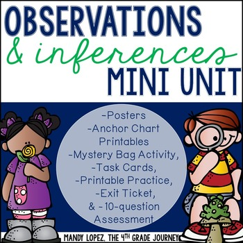 Observations & Inferences: A Hands-On Mini Unit