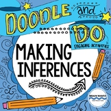 Inferencing - Doodle Notes and Activities for making infer
