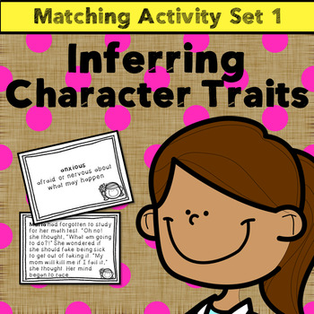 Inferencing Practice: Infer Character Traits