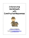 Inferencing Worksheets with Constructed Response